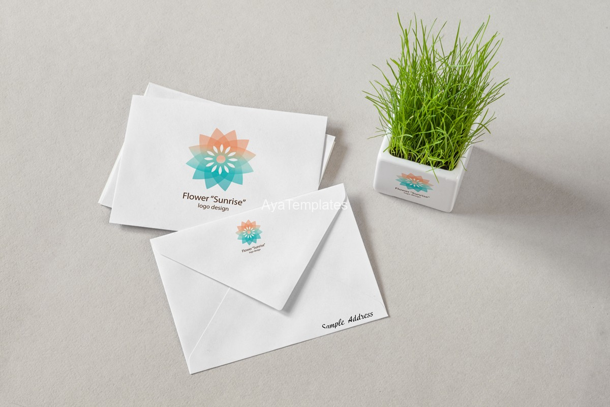 Flower-Sunrise-logo-design-and-brand-identity-mockup2