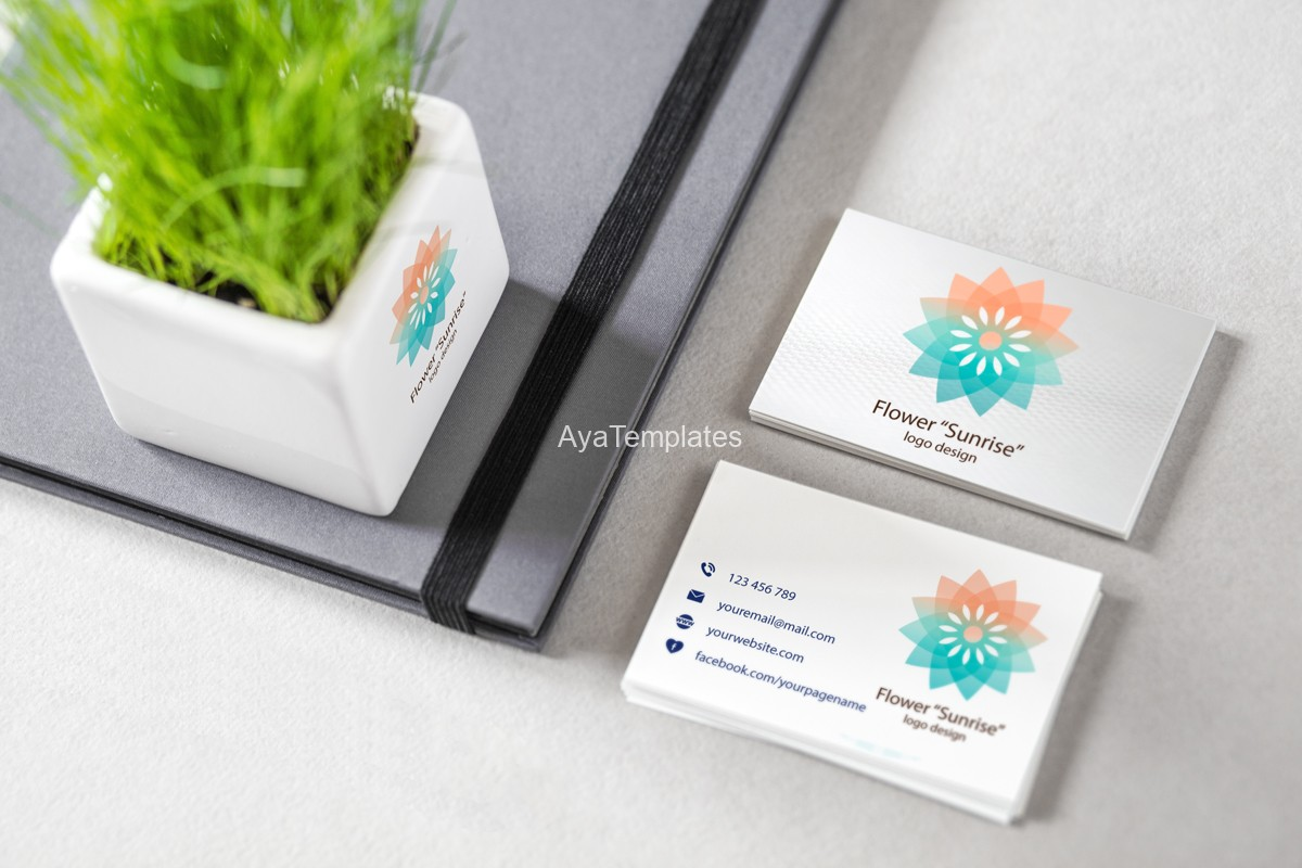 Flower-Sunrise-logo-design-and-brand-identity-mockup3