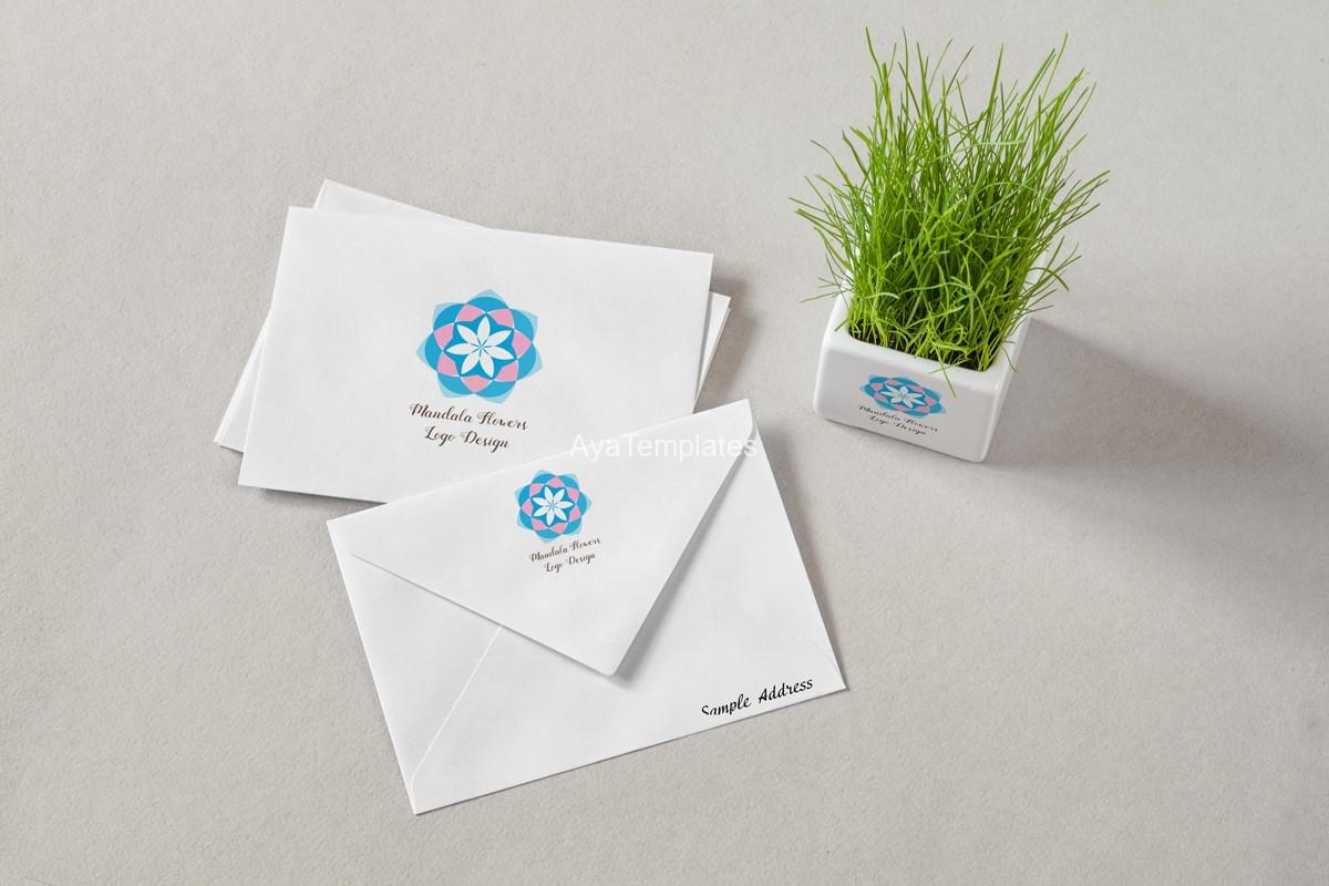 mandala-flower-logo-design-and-brand-identity-mockup-2