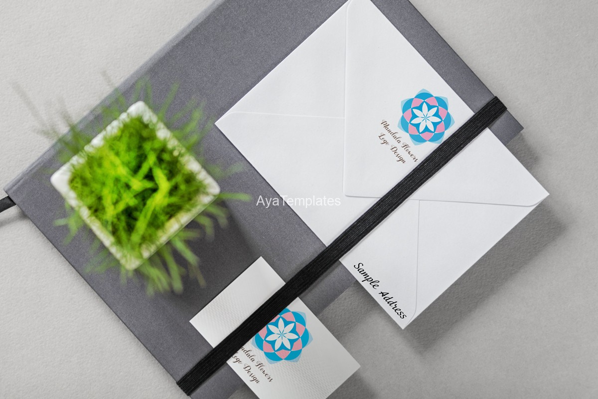 mandala-flower-logo-design-and-brand-identity-mockup-3