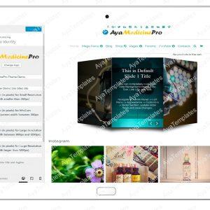ayamedicinepro-customizing-site-identity