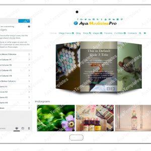 ayamedicinepro-customizing-widgets