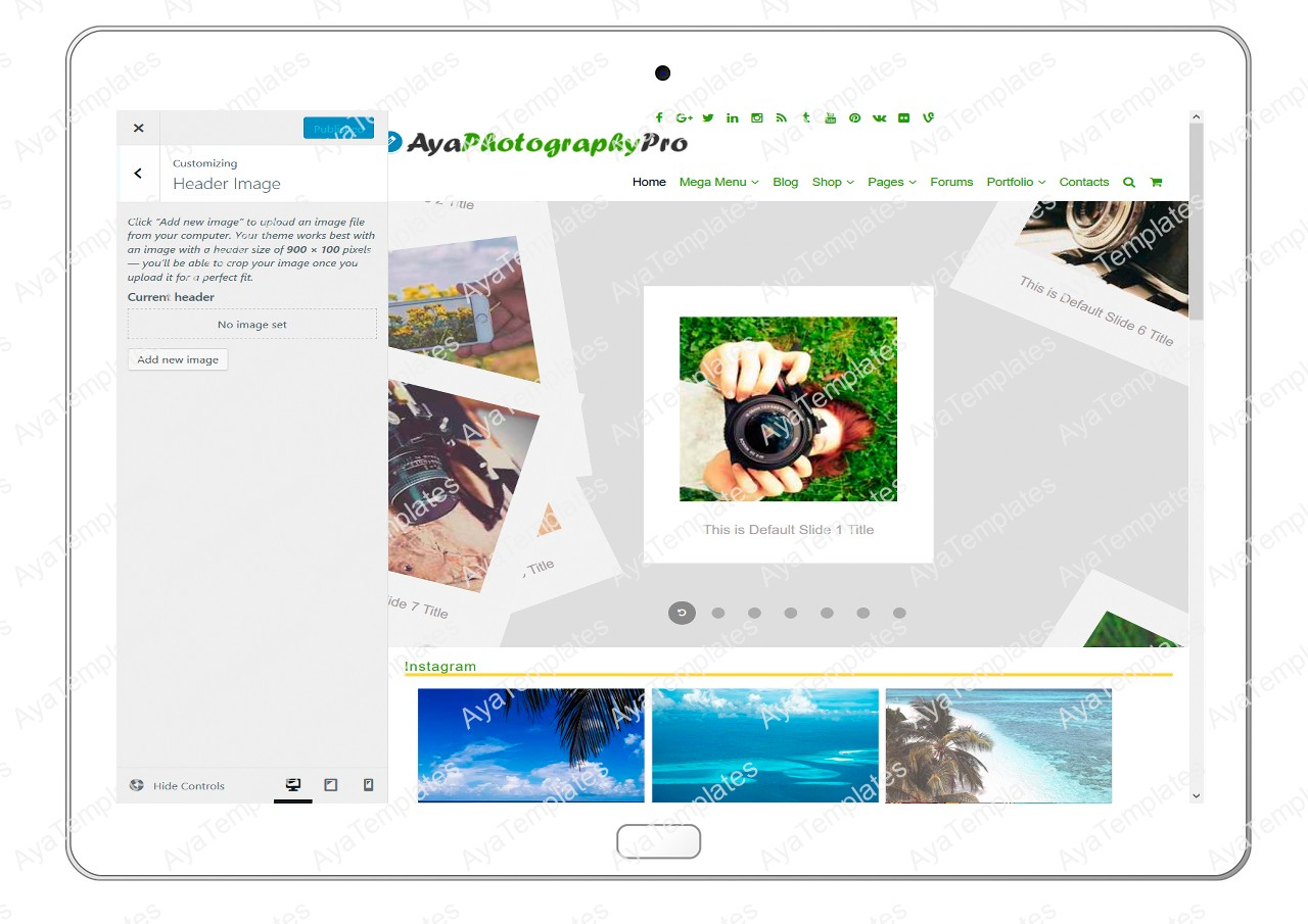 ayaphotograpypro-customizing-header-image