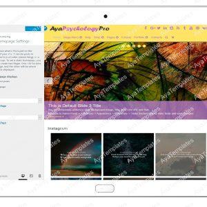 ayapsychologypro-customizing-homepage-settings