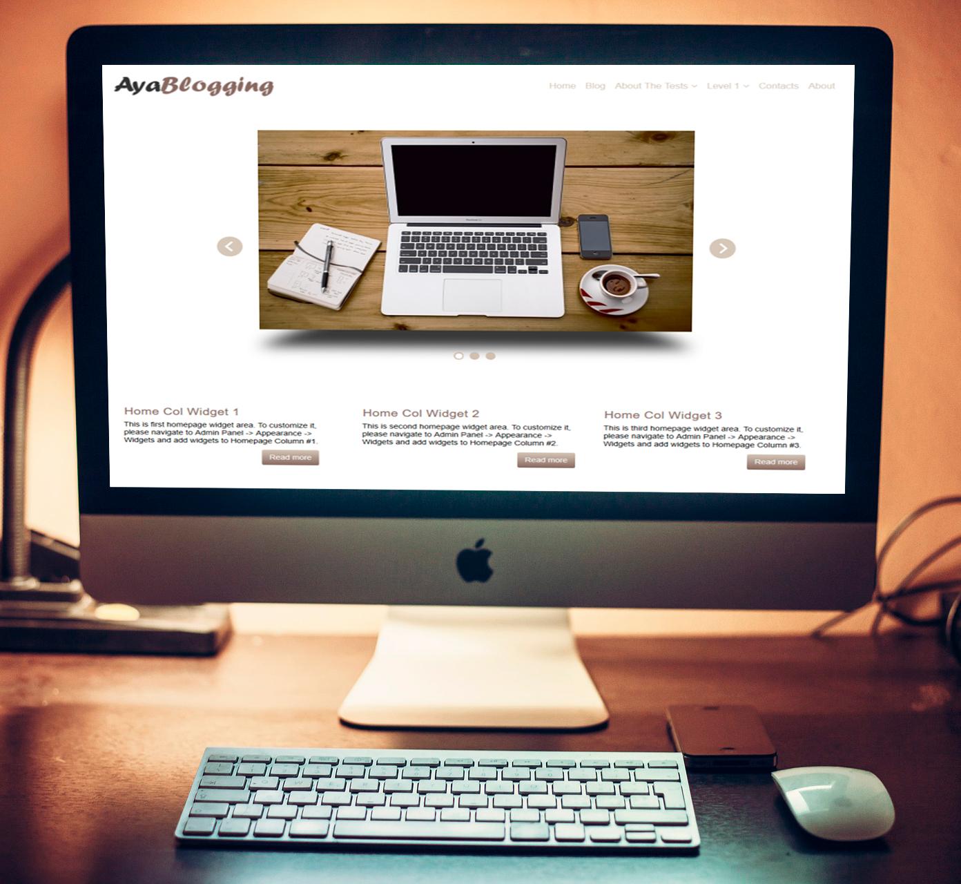 free-wordpress-theme-AyaBlogging-mockup