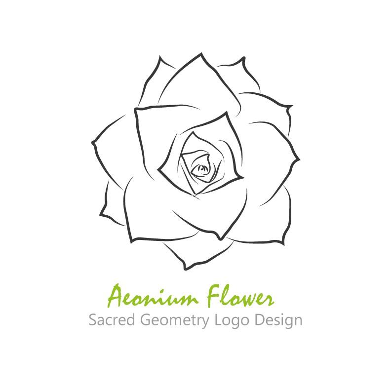 Aeonium-flower-logo