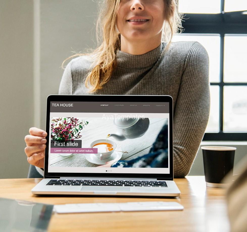Aya-Tea-House-css-designed-site-template-screen-mockup