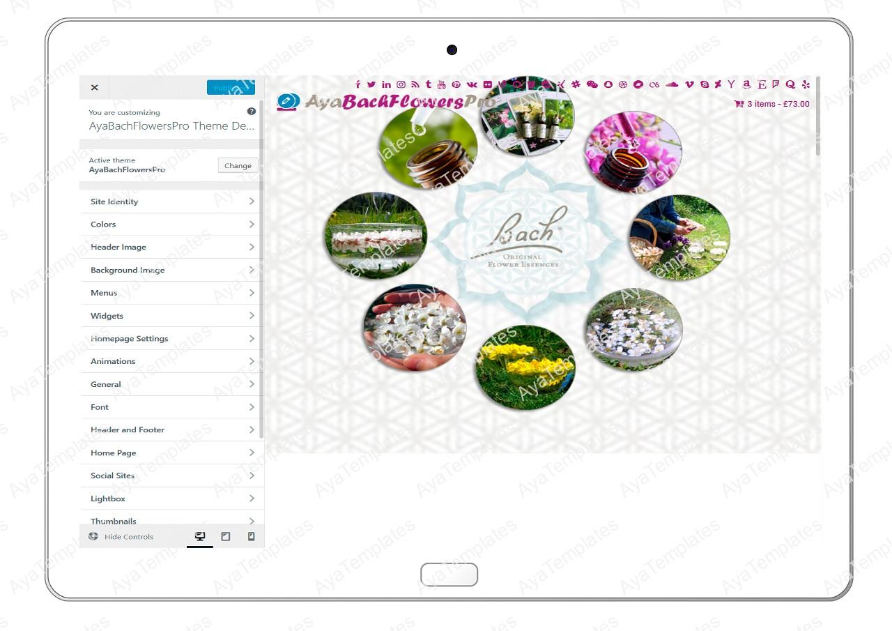 AyaBachFlowersPro-customizing-all-options