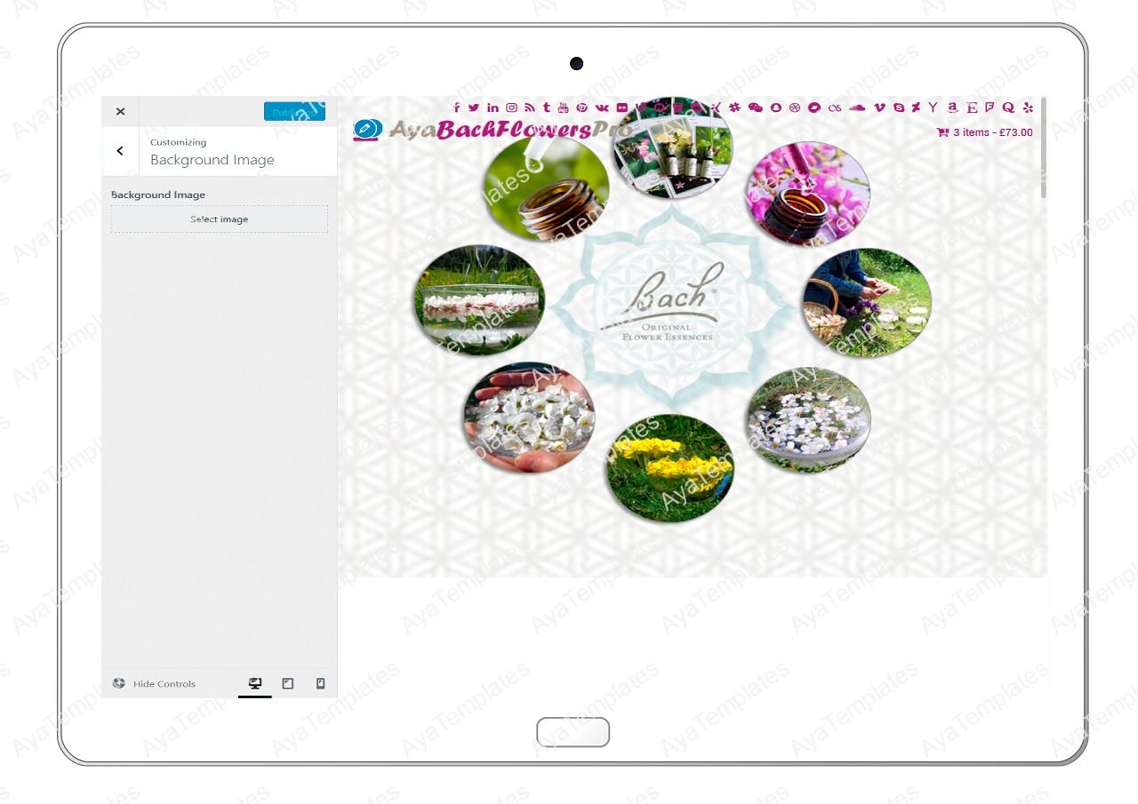 AyaBachFlowersPro-customizing-background-image