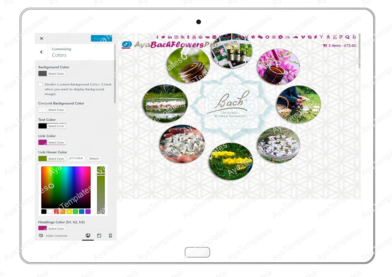 AyaBachFlowersPro-customizing-colors