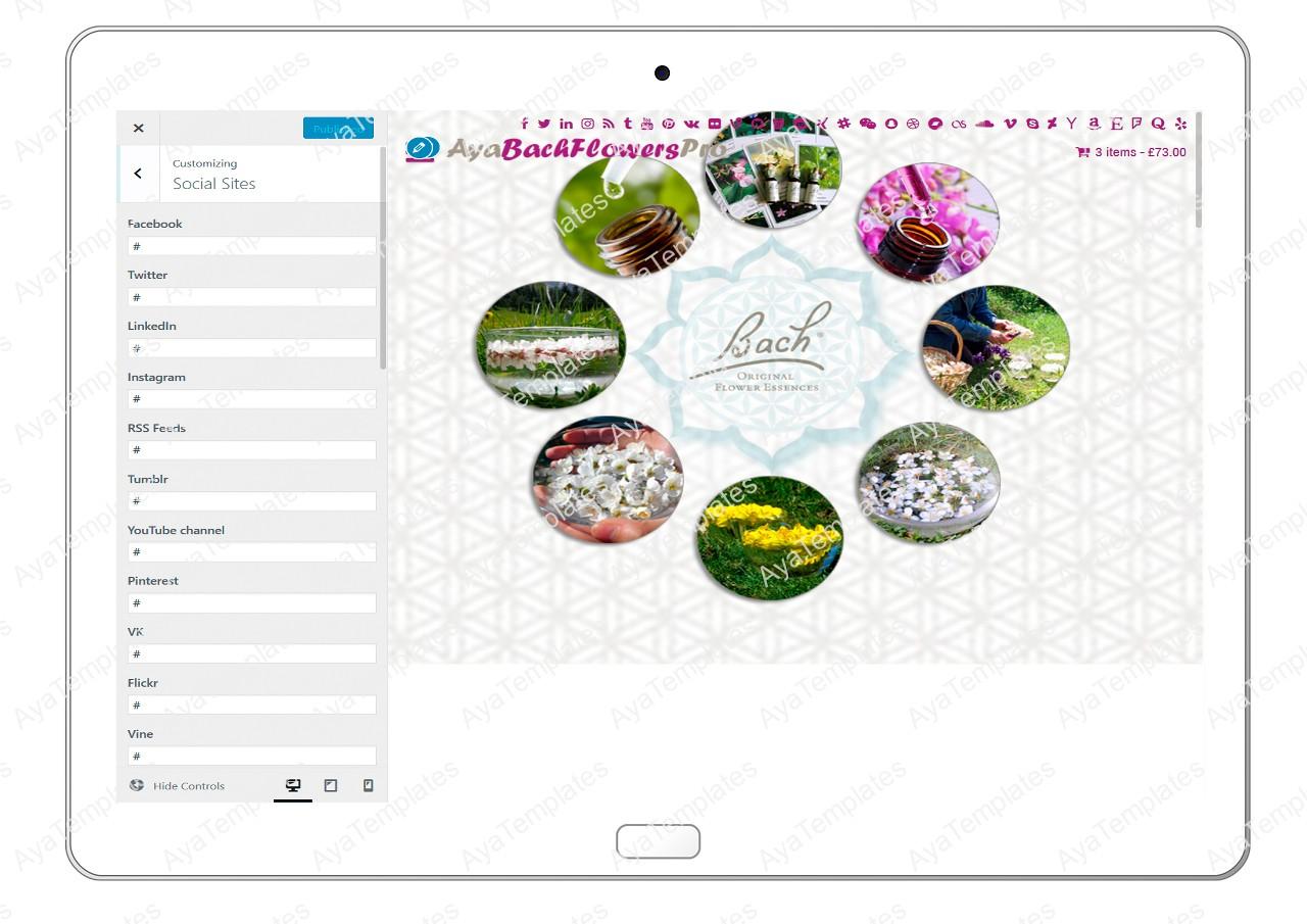 AyaBachFlowersPro-customizing-social-sites