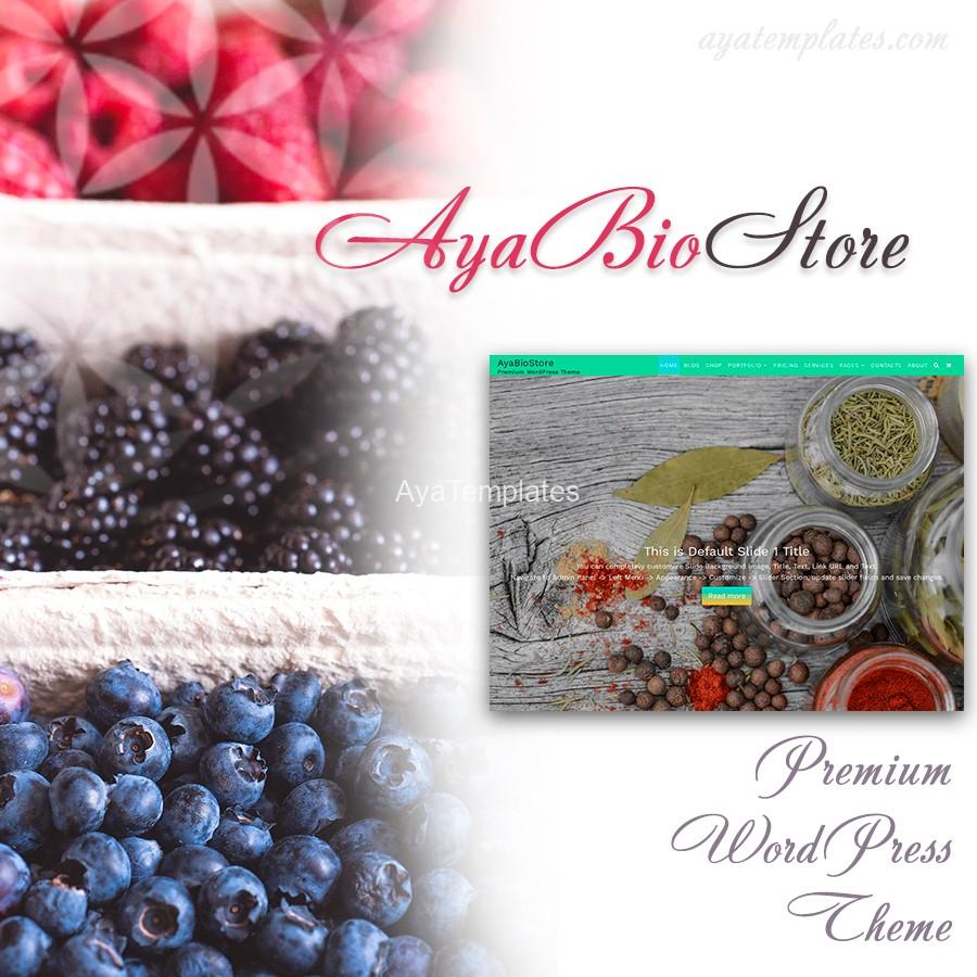 AyaBioStore-Premium-wordpress-theme-mockup