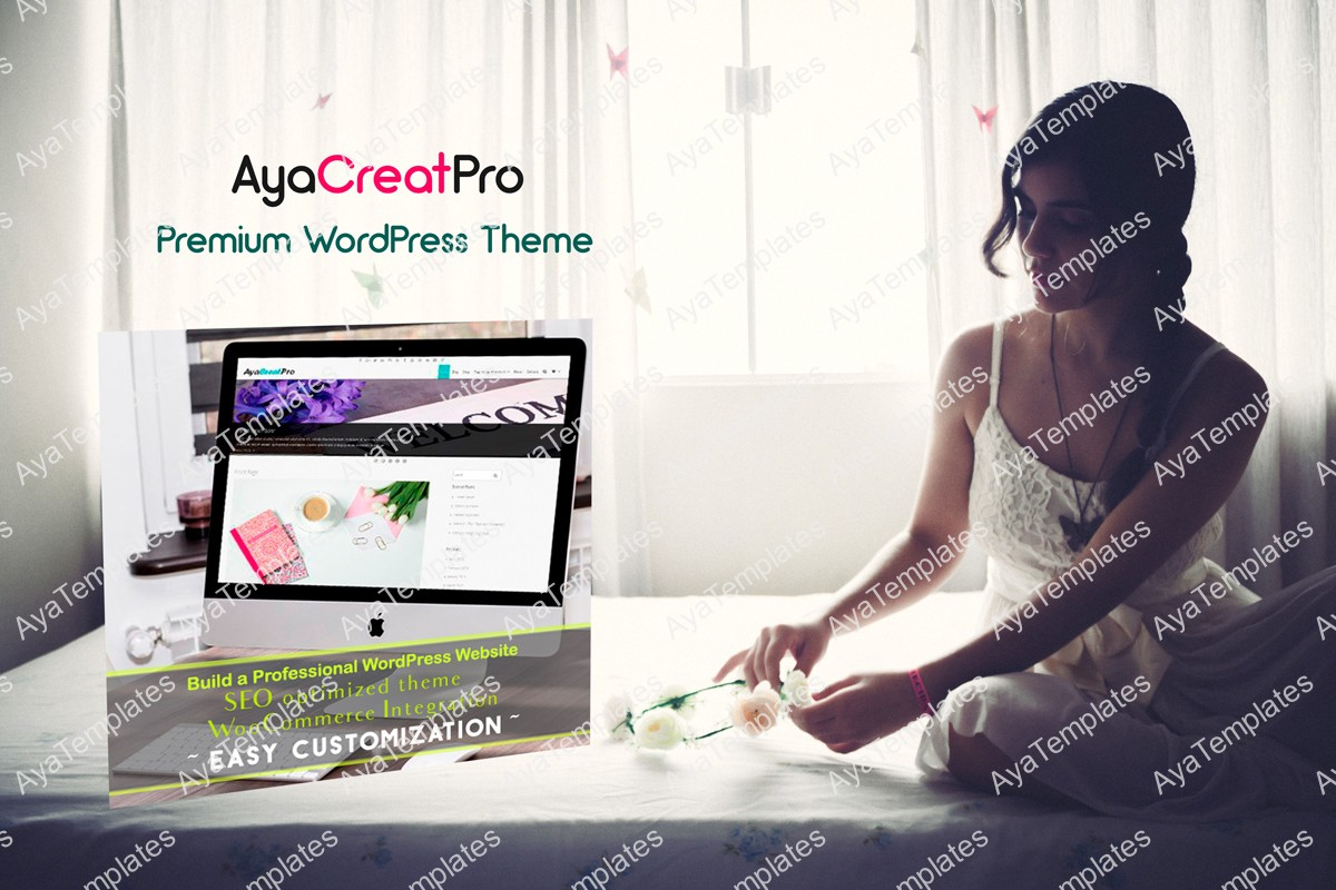 AyaCreatPro-premium-wordpress-theme-collage