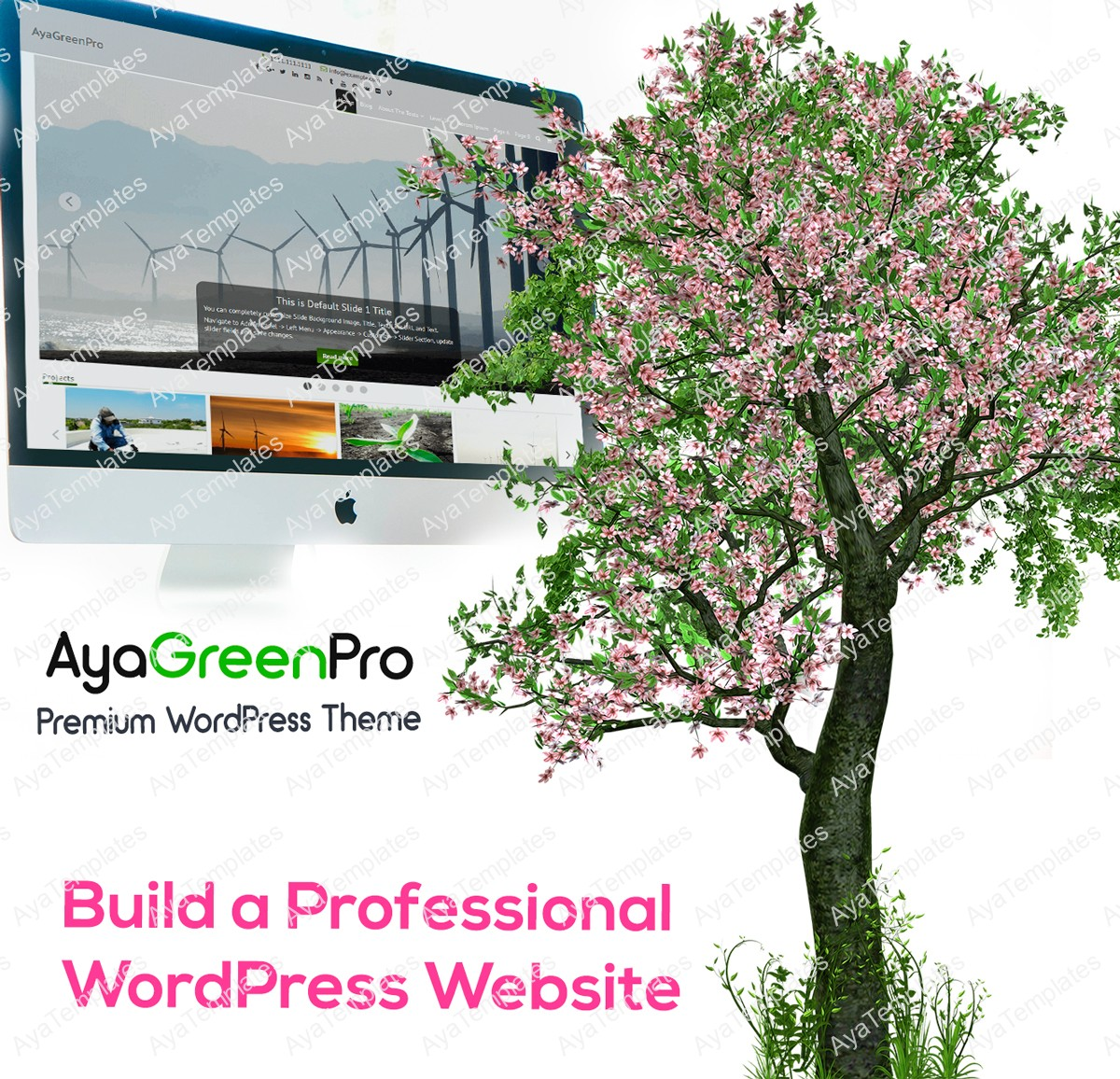 AyaGreenPro-premium-wordpress-theme-mockup