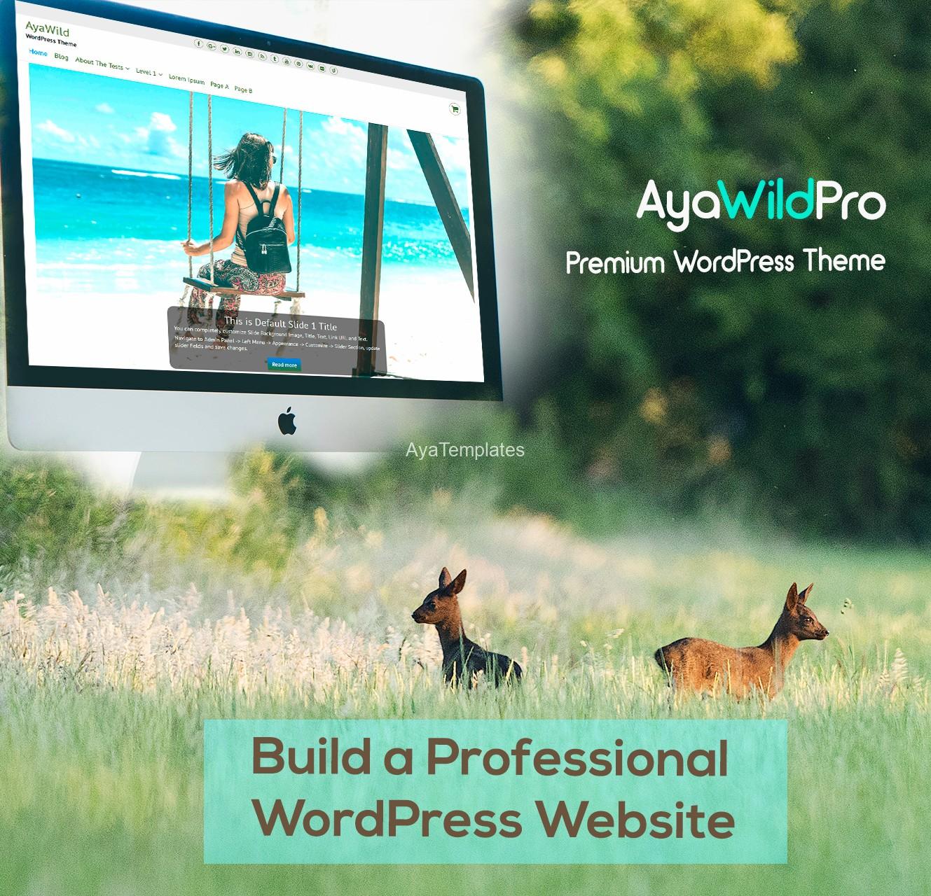 AyaWildPro-premium-wordpress-theme-mockup