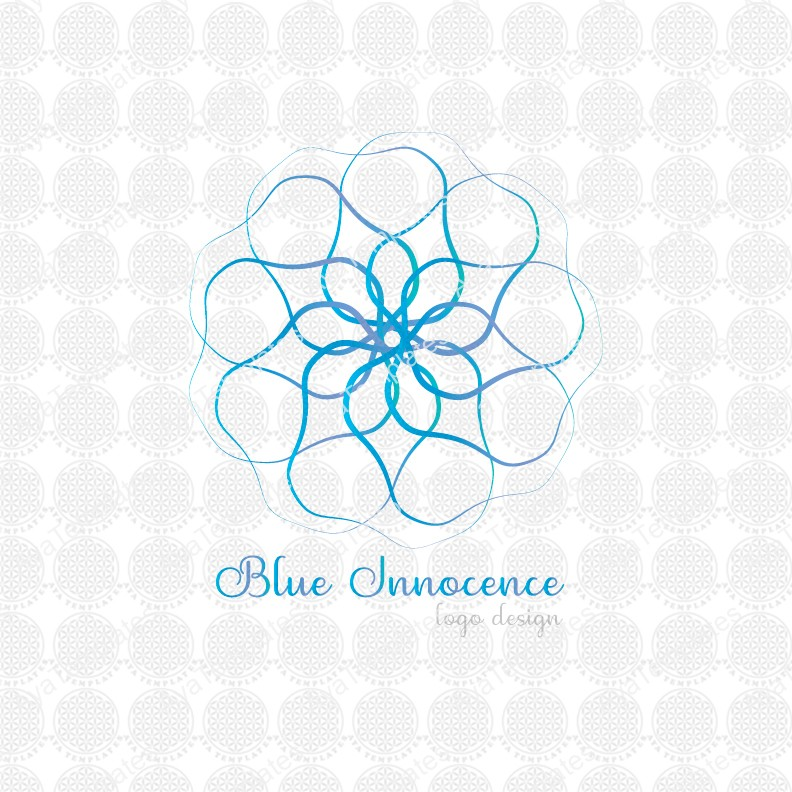 Blue-Innocence-logo-design