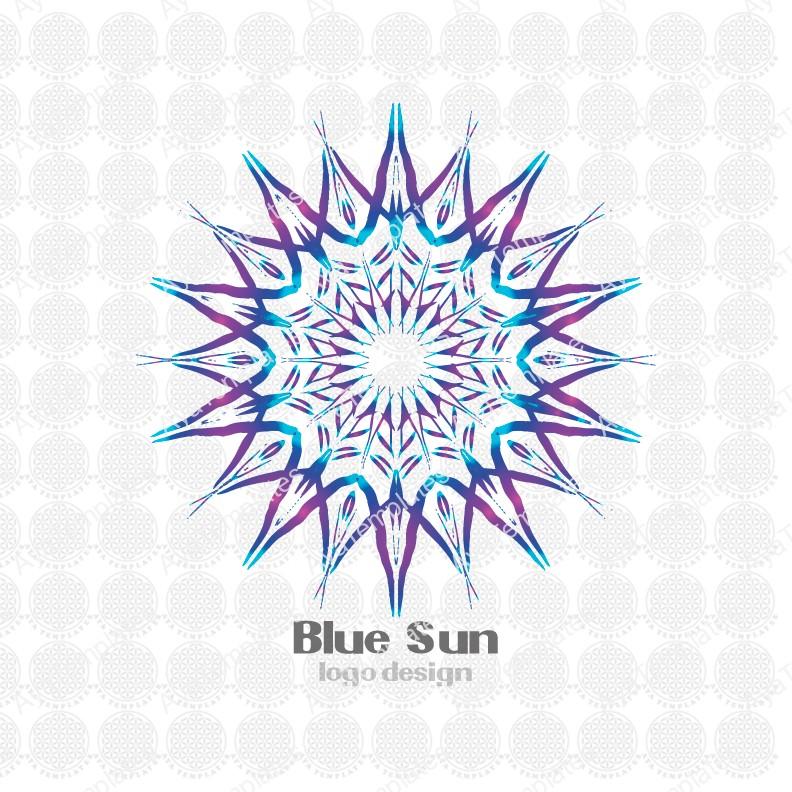 Blue-Sun-logo-design