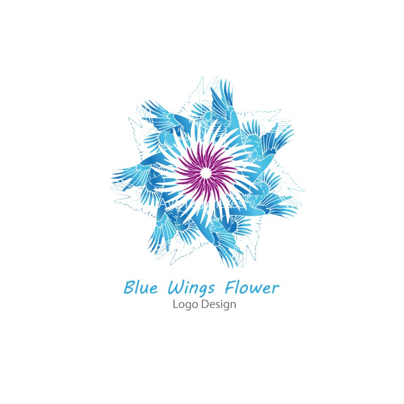 Blue-Wings-Flower