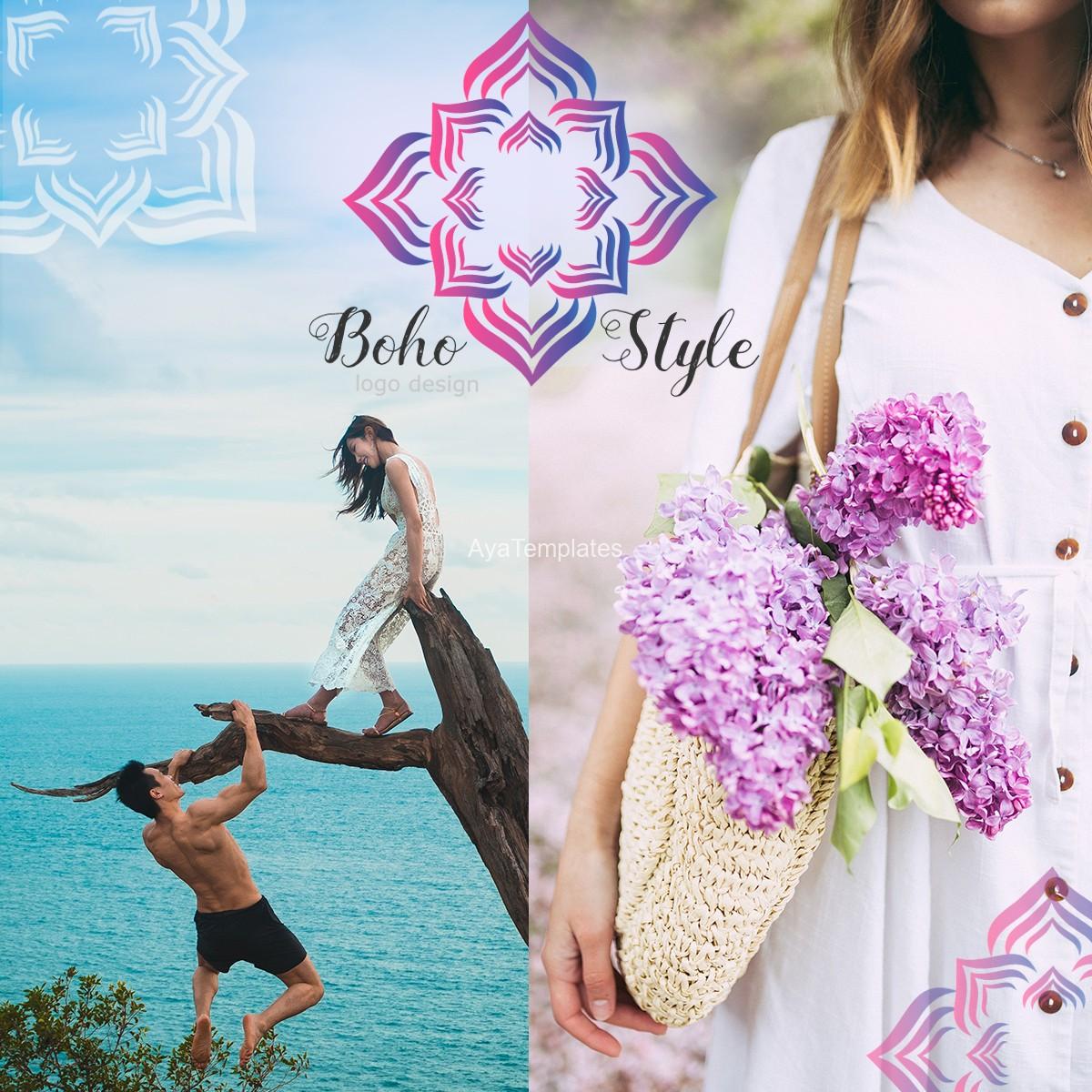 BohoStyle-logo-design-and-brand-identity-mockup-ayatemplates