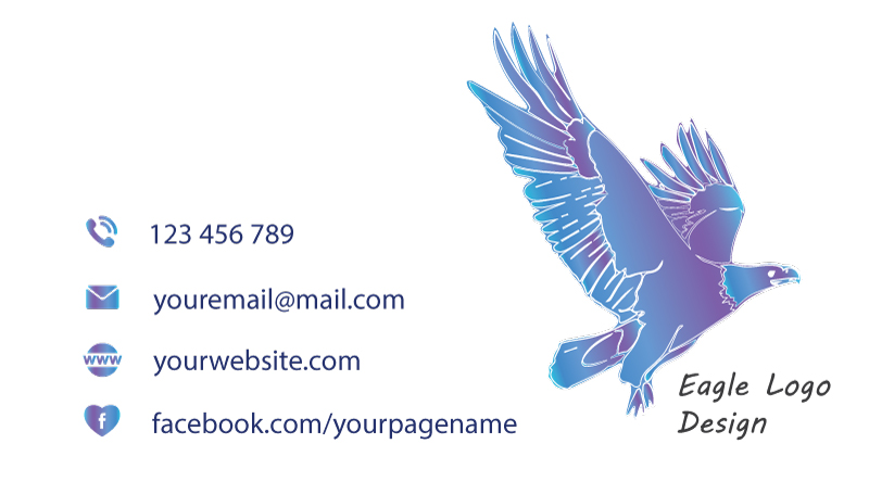 Business-card-template-Eagle-back-card