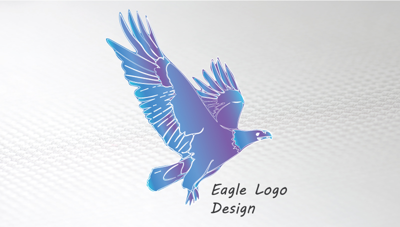 Business-card-template-Eagle-logo-front