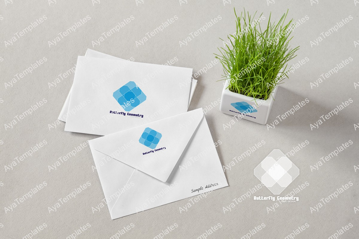 Butterfly-Geometry-logo-design-brand-mockup-ayatemplates