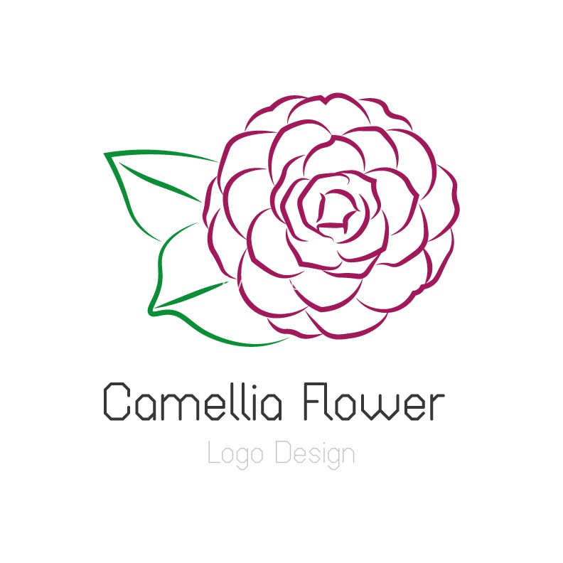 Camellia-flower-logo