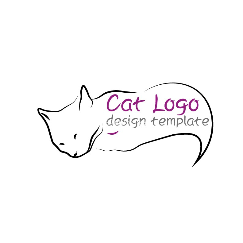 Cat logo-design