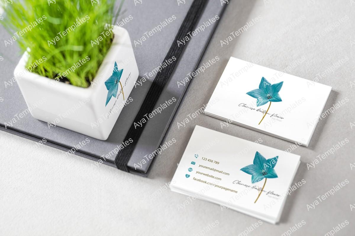 Chinese-Ballon-Flower-logo-design--branding-mockup-aya-templates
