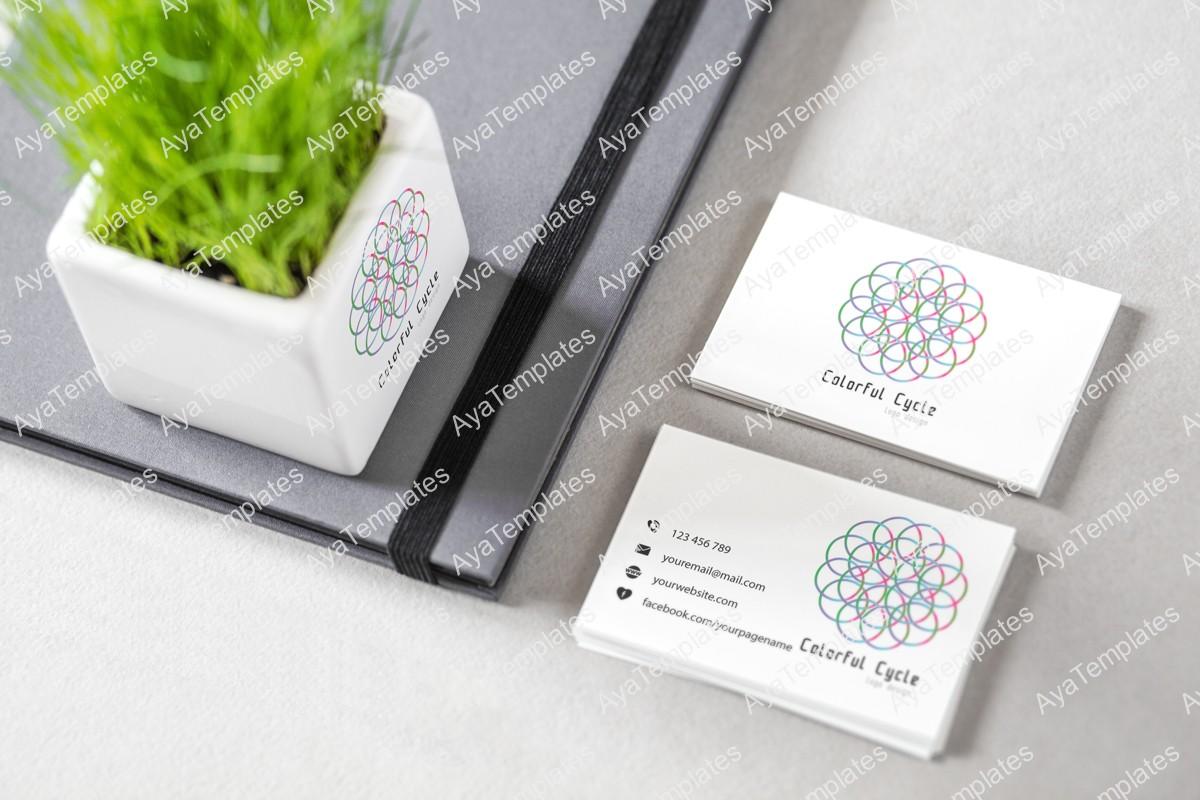 Colorful-Cycle-logo-design---brand---identity-mockup-ayatemplates