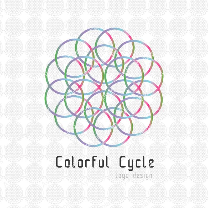 Colourful-cycle-logo-design