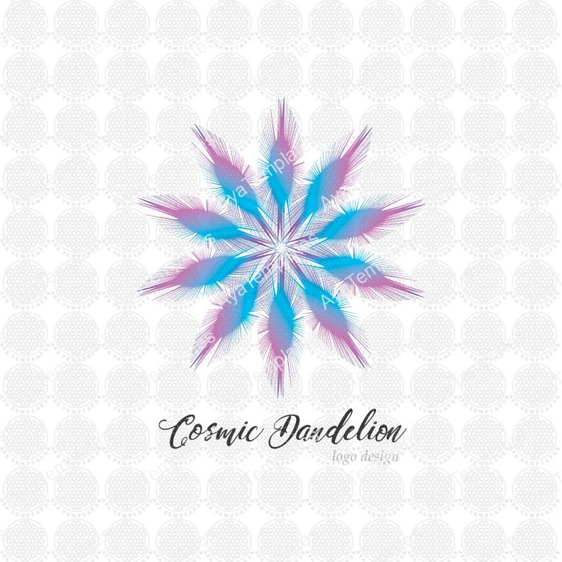 Cosmic-Dandelion-logo-design