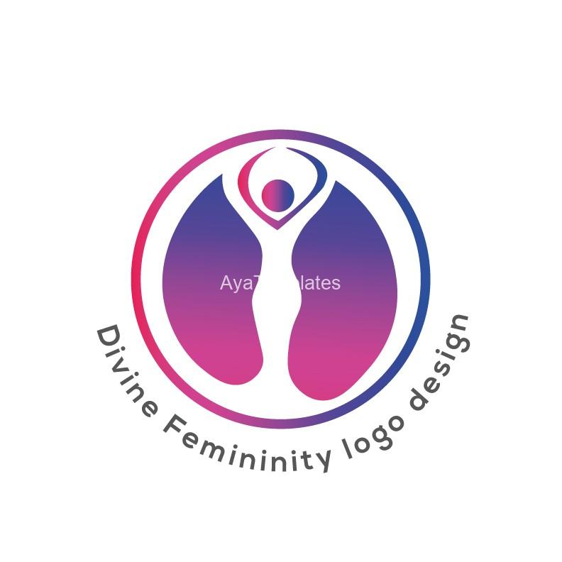 Divine-Femininity-logo-design