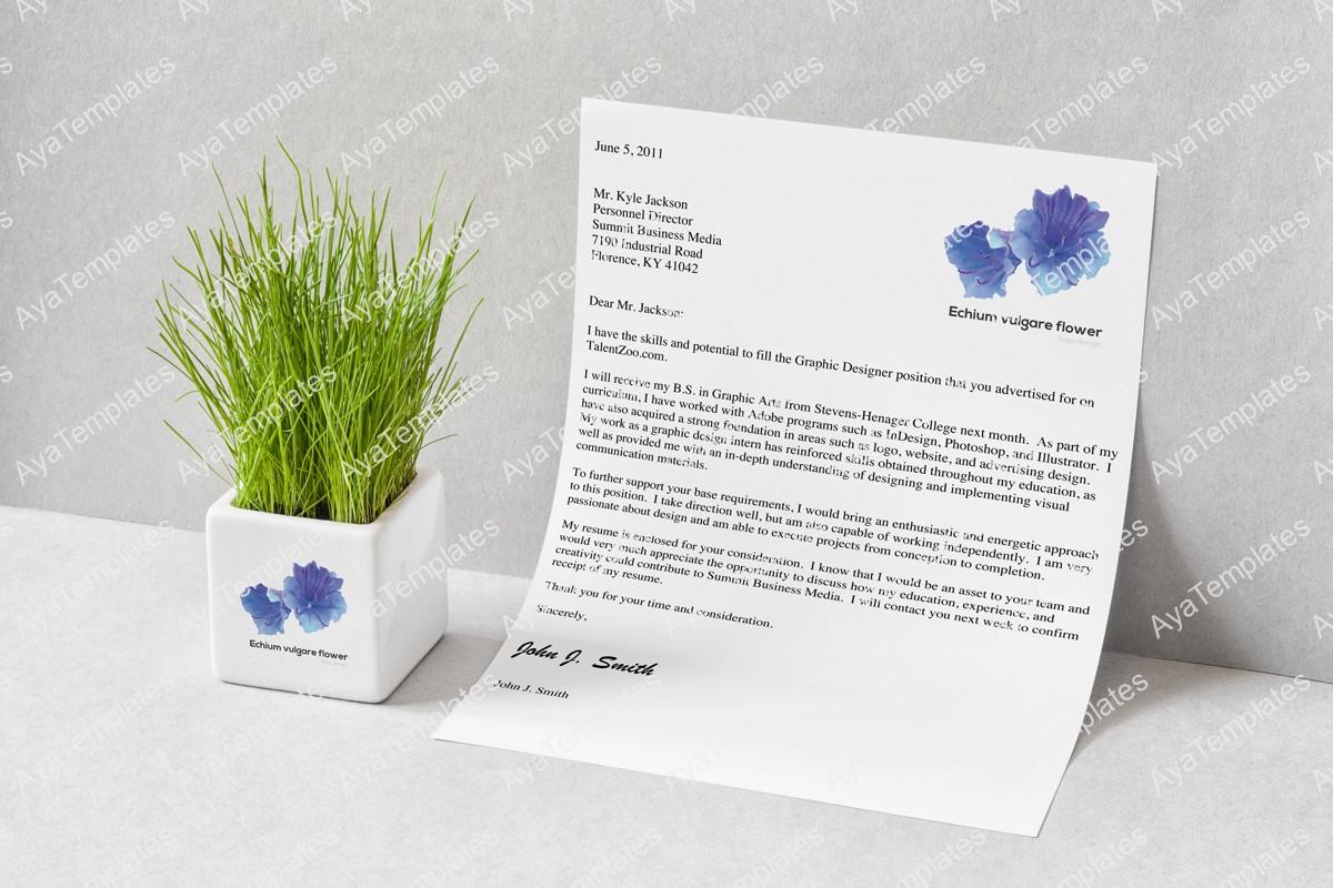 Echium-vulgare-flower-logo-design-branding-mockup-aya-templates