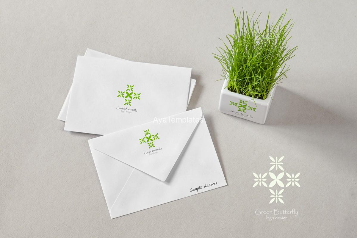 Green-Butterfly-logo-design-brand-identity-mockup2-ayatemplates