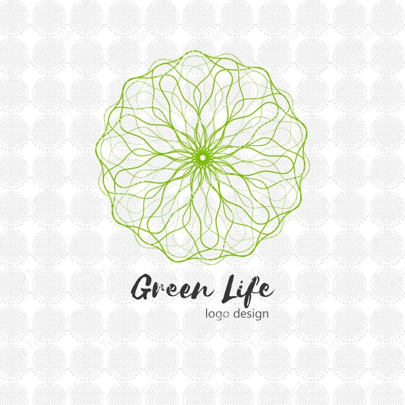 Green-Life-logo-design