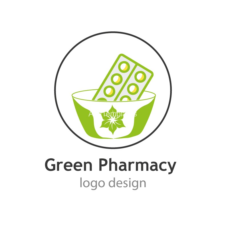 Green-Pharmacy-logo-design