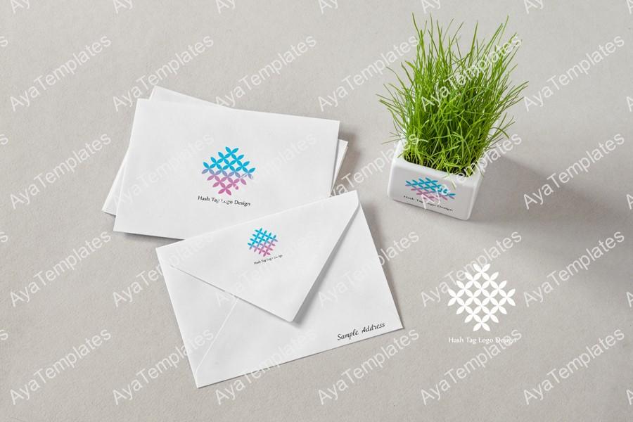 Hash-Tag-logo-design-branding-mockup2-ayatemplates-