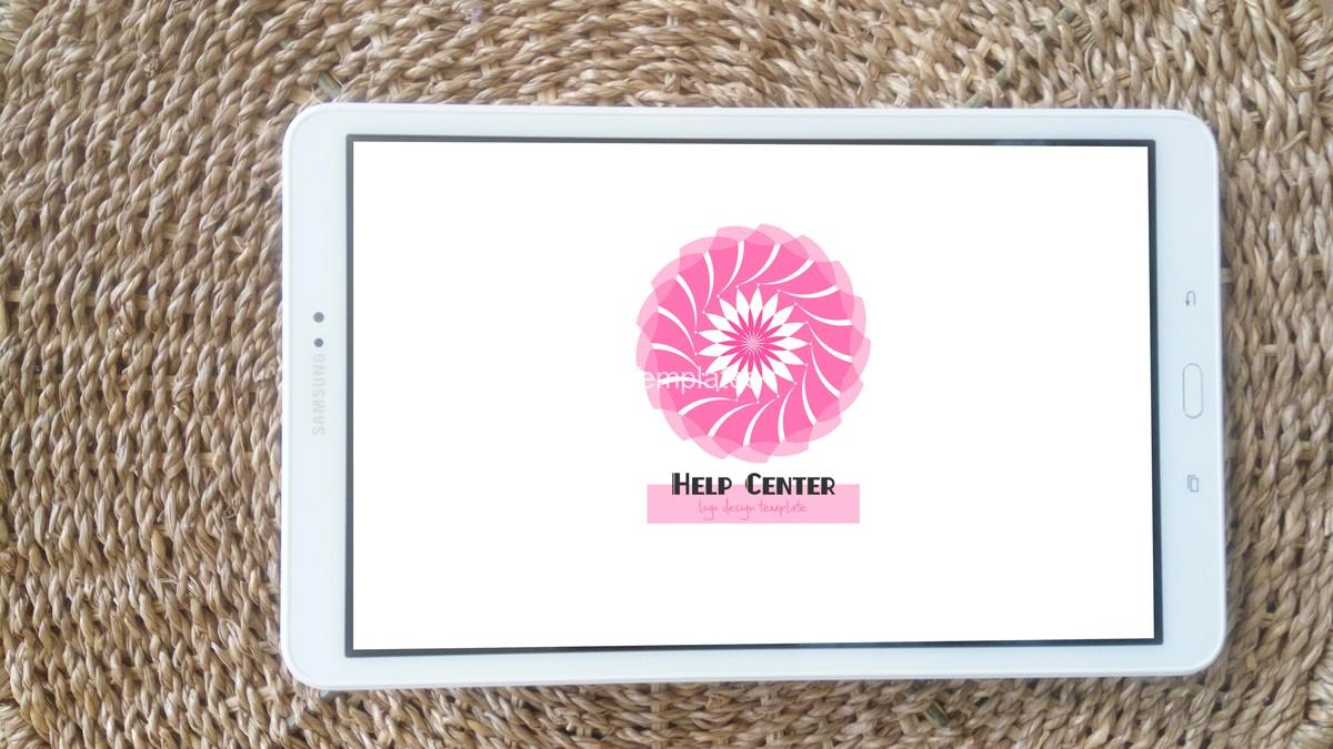 Help-center-logo-design-mockup1