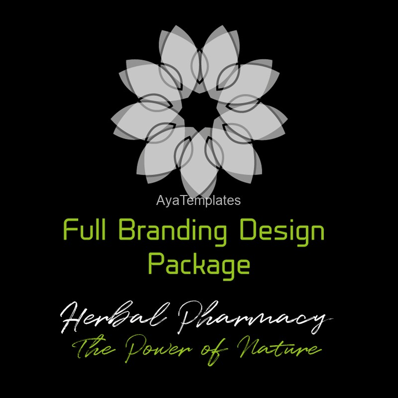 Herbal-Pharmacy-full-branding-design-package