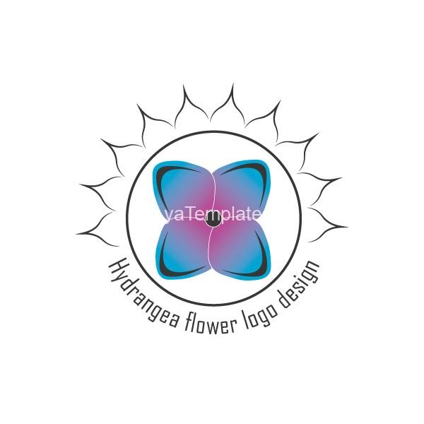 Hydrangea-logo-design