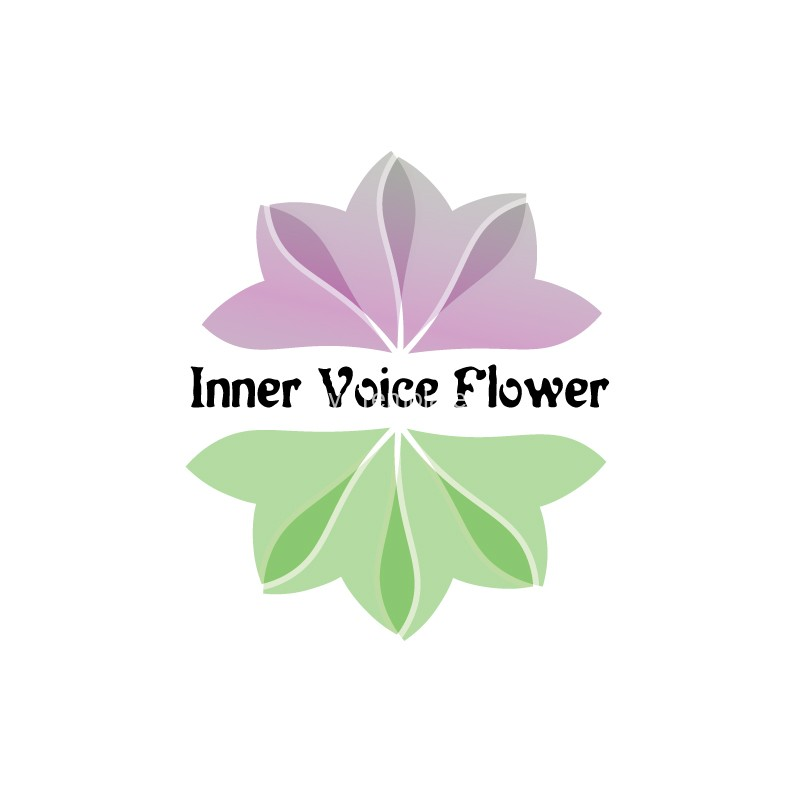 Inner-Voice-Flower-logo-design