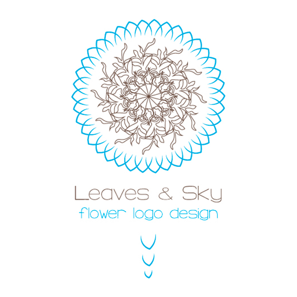 Leaves-and-sky-flower-logo-design-aya-templates