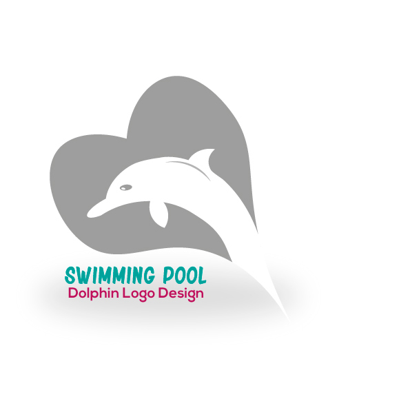 Logo-swimming-pool-with-dolphin-aya-templates