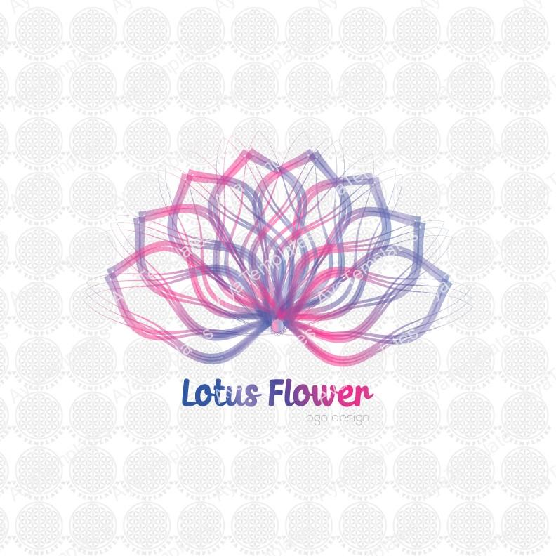 Lotus-Flower-logo-design