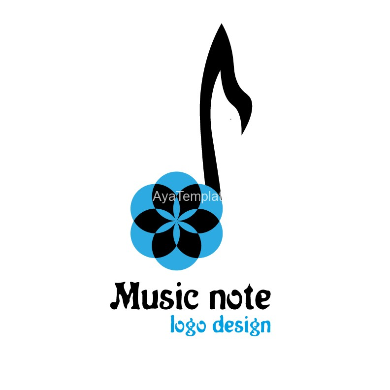 Music-note-logo-design