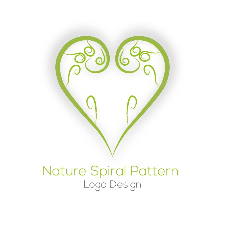 Nature-Spiral-Pattern-logo-design