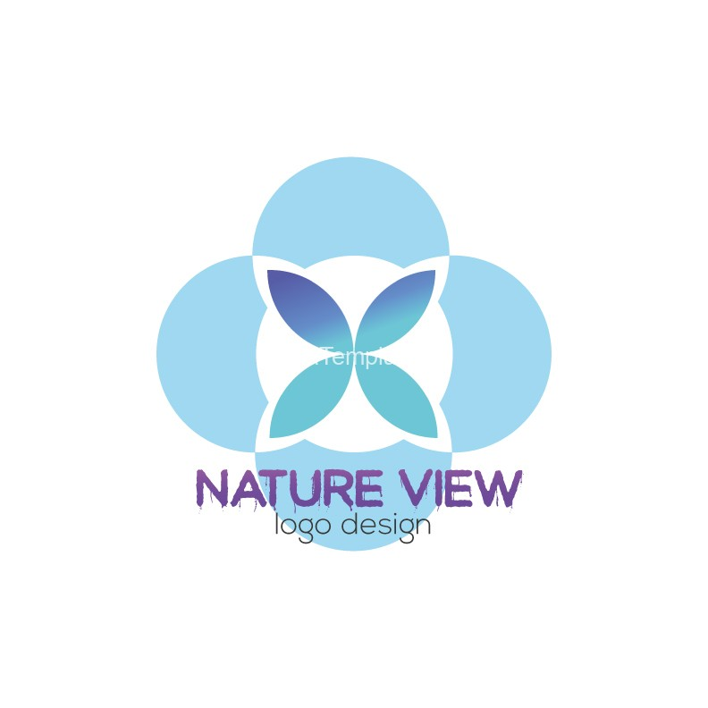Nature-View-logo-design