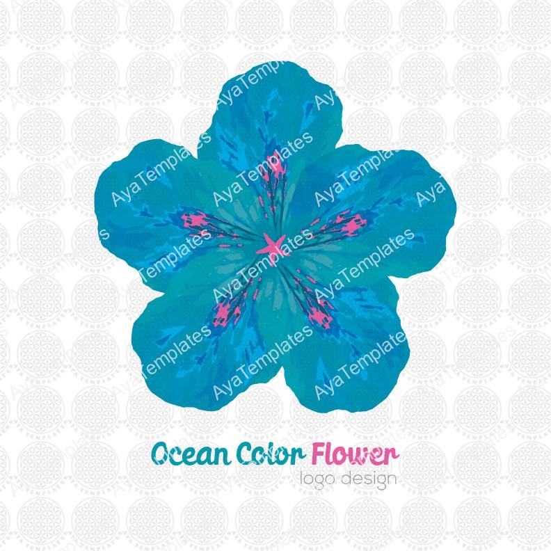 Ocean-color-logo-design