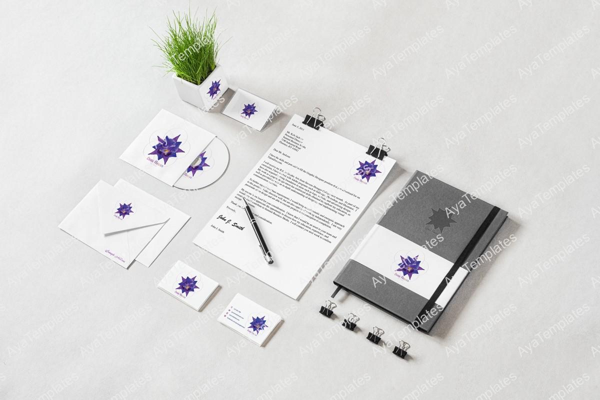 Orris-flower-logo-design-brand-identity-mockup-ayatemplates